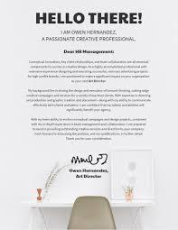 modern design cover letter template 1