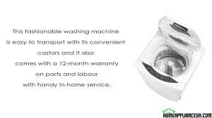 danby dwm17wdb review portable top load washing machine
