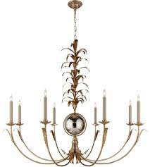visual comfort chc1474gi np e f chapman gramercy 8 light 42 inch gilded iron chandelier ceiling light