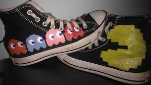 Fun Converse Designs Converse Love Pacman Converse