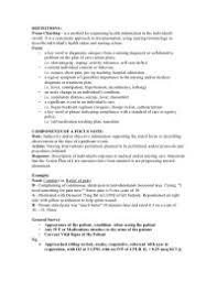 Sample Focus Charting For Newborn Fdar Charting