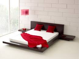 modern platform bed. Fujian Modern Platform Bed (Espresso) G