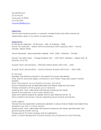 tax specialist resume payroll specialist resume resume badak