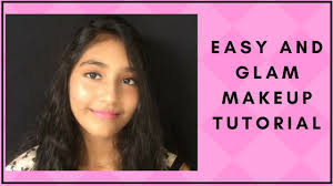 13 year old does her makeup easy and glam makeup tutorial