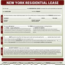New York Residential Lease