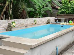 rectangle above ground swimming pool. Amazing Above Ground Pool Ideas And Design Rectangle Swimming U