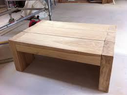 jess boot s coffee table from new oak railway sleepers