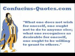 Golden Rule Quotes Classy Confucius Quotes The Golden Rule YouTube