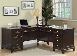 walnut office furniture. CT801011 GARSON L-SHAPED WALNUT OFFICE DESK WITH 8 DRAWERS Walnut Office Furniture C