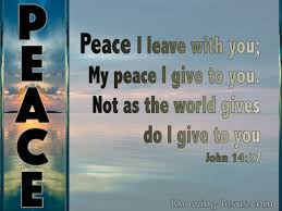 Image result for images for John 14:27