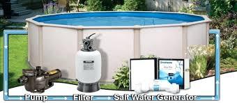 salt water pool above ground. Modren Above Saltwater Pool Above Ground Salt Water Pump Walmart Intended T