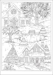 Small Picture Winter Wonderland Coloring Book Creative Haven 064174 Details