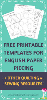 Paper Piecing Patterns Free Printables