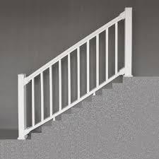 designer s image reg 6 x 3 white premium classic vinyl stair railing more information