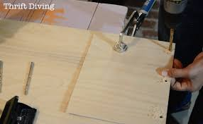 how to make a wooden journal drill holes in the wood for the book rings
