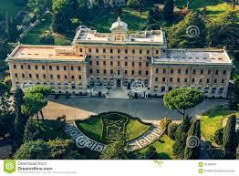 Rome Italie Jardins De Létat De La Cité Du Vatican Photo Stock