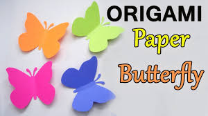 How To Make Origami Paper Butterfly Making Videos
