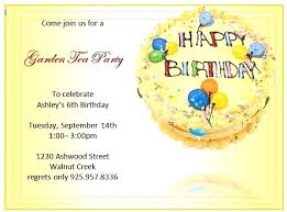 Ms Word Birthday Card Template Invitation Templates Pertaining To