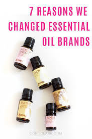 7 Reasons We Changed Essential Oil Brands Dreaming Doing