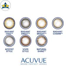 Acuvue Contact Colors Chart Define