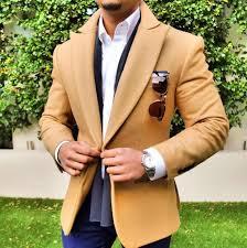 Balzer Designs For Man 2019 Brown Suit Jacket For Men Leisure Wool Tweed Balzer