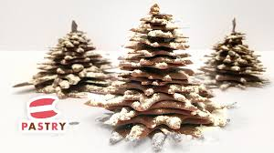How to make a Chocolate Christmas Tree - Chocolate Decorations Ideas 01 -  YouTube