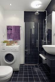 simple bathrooms designs. Simple Bathroom Designs In Trends For Dream House: Wash Machine And Tile Shower Walls With Bathrooms