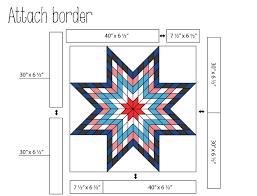 Jellied Lone Star Quilt Â« Moda Bake Shop & Attaching the border Adamdwight.com