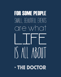 Small Beautiful Quotes Best of Doctor Who Inspirational Quote Typography Print Pinterest Quote