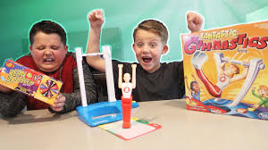 fantastic gymnastics. fantastic gymnastics challenge! losers eat gross bad jelly beans food | toys family video - youtube fantastic gymnastics