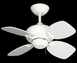 picture of 26 mini breeze ceiling fan in pure white