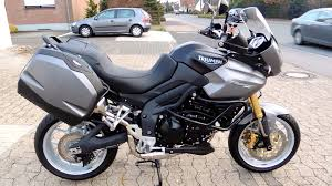 triumph tiger 1050 abs modell 2011 youtube
