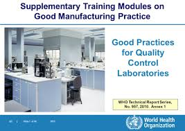 Pharmaceutical Quality Control Laboratory Design Who Good Practices For Pharmaceutical Quality Control
