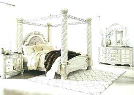 White Canopy Bed Frame House Girls White Canopy And Breakfast Wood ...