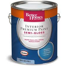 better homes and gardens paint. better homes and gardens interior semi-gloss paint, 1 gal paint