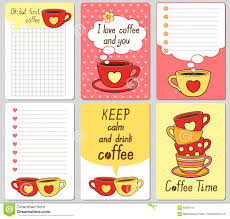 Sticker Design For Scrapbook Vector Cute Cards Notes Stickers Labels Tags With Funny