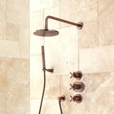 bronze shower system callas thermostatic shower system oil rubbed bronze delta oil rubbed bronze shower system