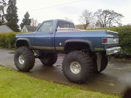 Images For > Chevy Trucks Jacked Up With Stacks | chevrolet rocks ...