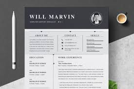 Resume Template Cv Design Template Cover Letter Templates