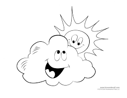 Small Picture Coloring Pages For Weather Printable free coloring pages for