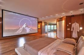 modern bedroom with tv. Beautiful Modern Mansion Master Bedroom With Tv Big Designs A