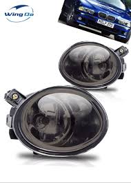E46 M Sport Fog Light Bulb Case For Bmw E46 3 Series M3 2001 2005 E39 M5 1995 2004 Fog Light With Bulbs Halogen Car Light Assembly