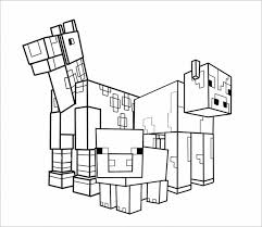 minecraft coloring pages 21 free printable word, pdf, psd, png How To Draw A House Plan In Word animal minecraft coloring page template word this is a unique design how to draw a floorplan in word
