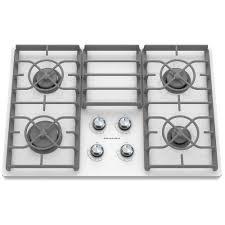 kitchenaid architect series ii 30 in gas on glass gas cooktop in white