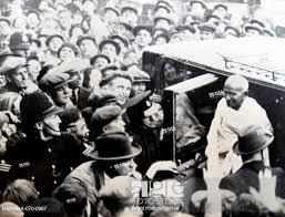 stock photo mohandas karamchand gandhi 1869 1948 attends the round table