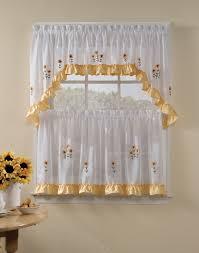 Kitchen Curtain Patterns New Trendy Window Curtain Styles 48 Elegant Kitchen Curtains Flowers