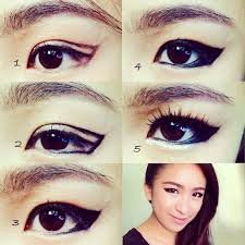 beauty fashion and lifestyle by stellajezebelle kpop inspired eyeliner makeup look no korean eye