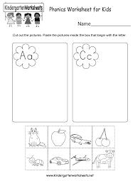 Phonics worksheets and online activities. Worksheet Phonics For Preschool Hatunisi
