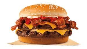 burger king canada adds bacon king sandwich