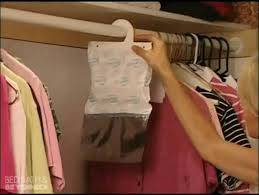 how to use the damprid closet hanger at bed bath beyond